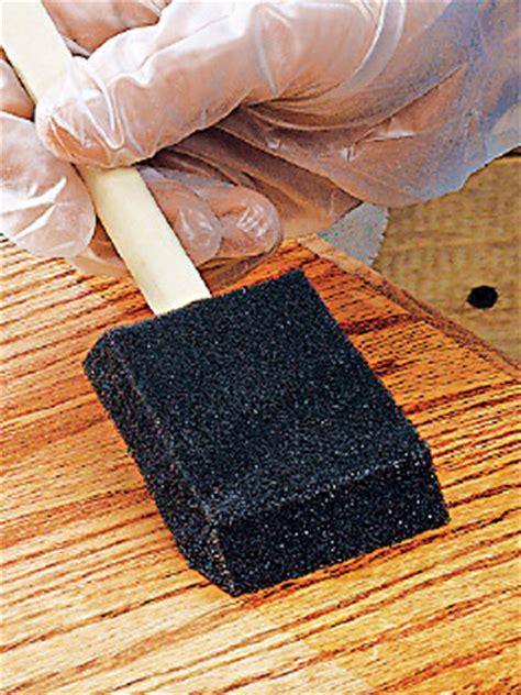 finishing apply polyurethane woodworking stack