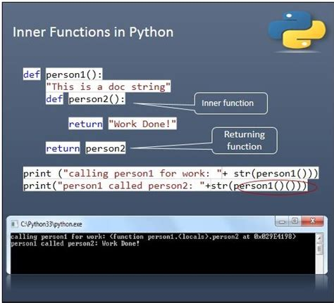 inner function python python basics understanding the functions codeproject