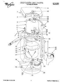 water dispenser diagram parts for whirlpool hd1000xs3 water dispenser