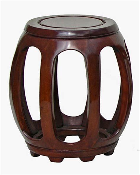 rosewood stool pumpkin design
