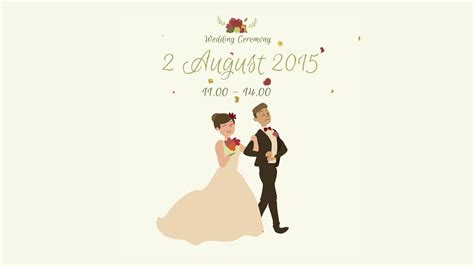 Animation Wedding Invitation by Mega Rasyid Animated Wedding Invitation