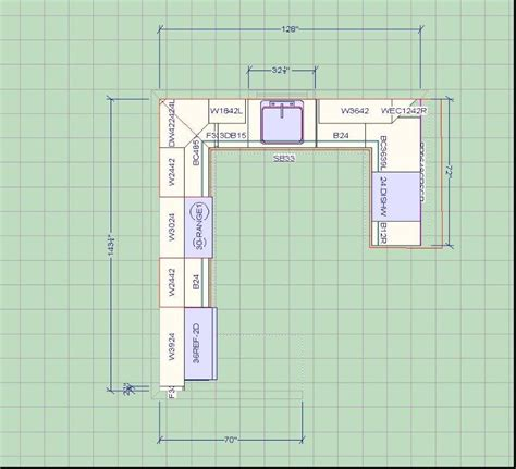 Kitchen Design Layout with Kitchen Layout Planner Luck Interior