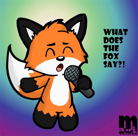 what does the say what does the fox say by cartcoon on deviantart
