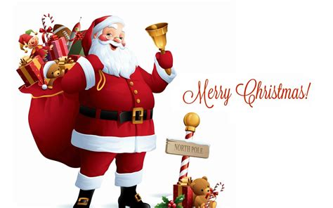 merry christmas santa claus wallpapers gallery