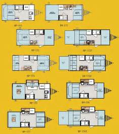 Pods Floor Plans Forest River R Pod Ultra Lite Travel Trailer Floorplans