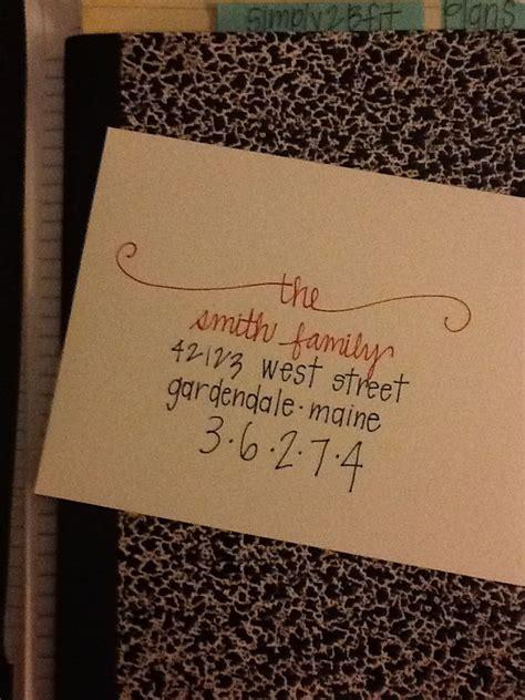 cute   address  envelope christmas card