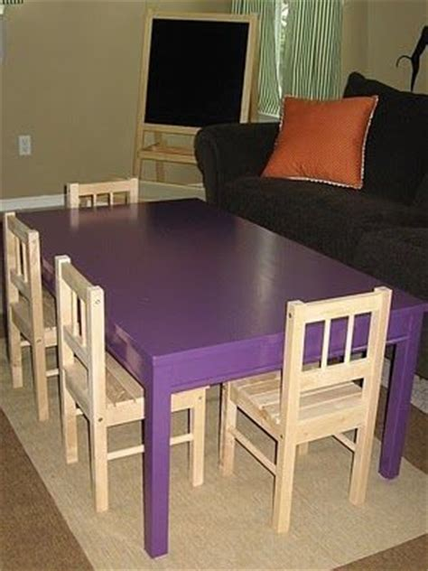 Ikea Dining Table Legs Large Table Made From An Ikea Dining Room Table Cut The Legs And Paint It And You
