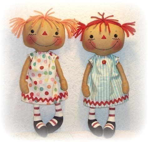 pattern sewing doll cloth doll pattern pdf pattern rag doll pattern sewing
