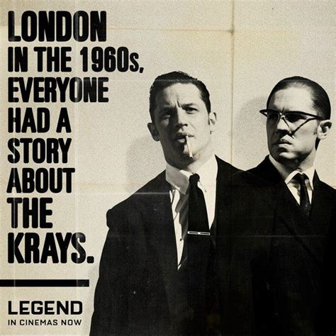 quotes film legend 2015 quot legend quot is latest film portrayal of the kray twins the