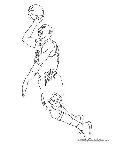 michael jordan coloring pages hellokids com