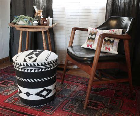 Pendleton Upholstery Diy Utility Bucket Ottoman Design Sponge