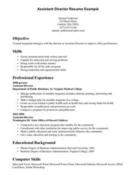 communication skills resume sle curriculum vitae exle pdf free cv template