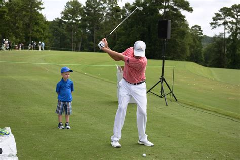 davis love iii swing alabama power junior clinic kicks off barbasol