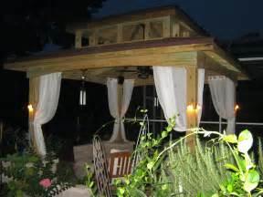 outdoor lights for gazebos outdoor gazebo lighting ideas homesfeed