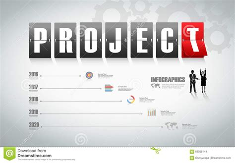 design infographic project management can be used for