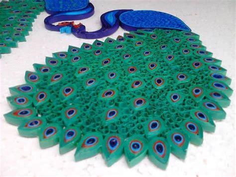 How To Make Paper Quilling Peacock - rajalakshmi s trainer in nanganallur chennai