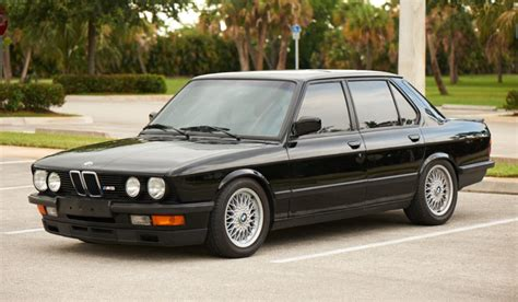 1988 Bmw M5 For Sale by 1988 Bmw M5 For Sale On Bat Auctions Sold For 42 750 On