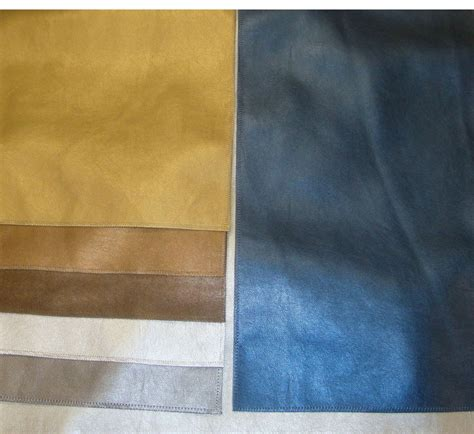 Metallic Vinyl Upholstery Fabric by Vinyl Upholstery Leather Metallic Faux 7 Colors 54 Quot Wide