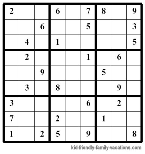 printable sudoku one per page printable hard sudoku page related keywords printable