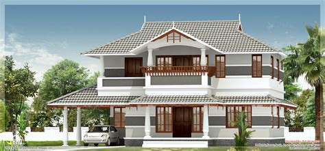 kerala home design kannur 2400 square sober colored kerala villa house design plans