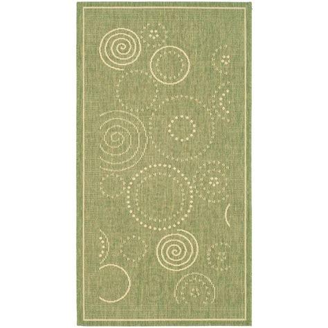 2 x 3 outdoor rug safavieh courtyard olive 2 ft x 3 ft 7 in indoor outdoor area rug cy1906 1e06 2 the