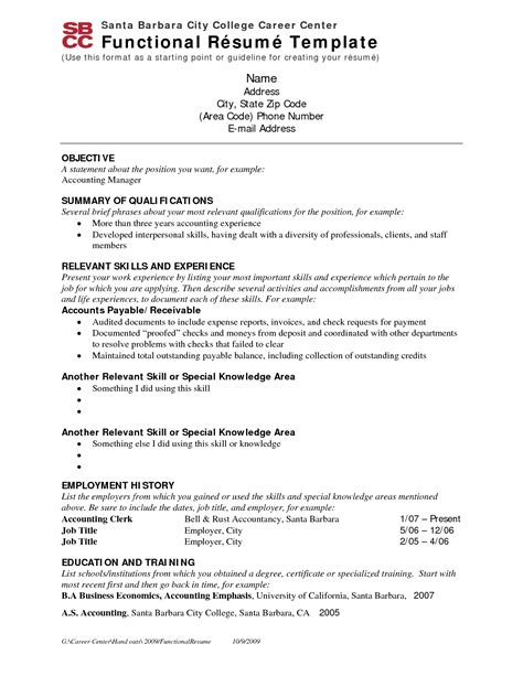 resume format do employers resume sle for employment