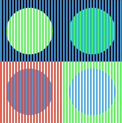 color optical illusions illusions and illustrations moving circles illusion