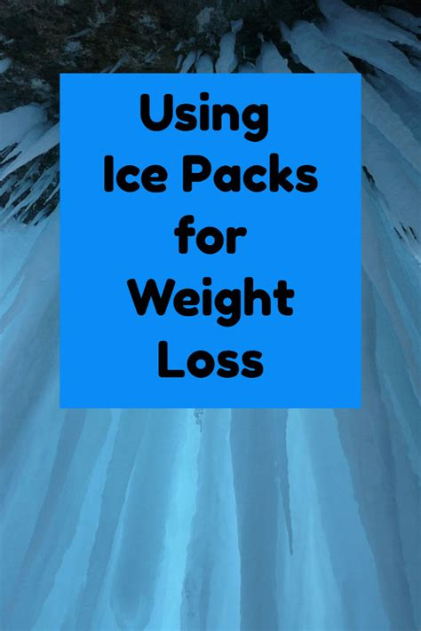 Cold Showers Weight Loss by Packs For Weight Loss Do Cold Showers And Packs