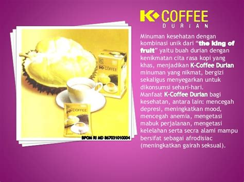 coffee durian kopi duren