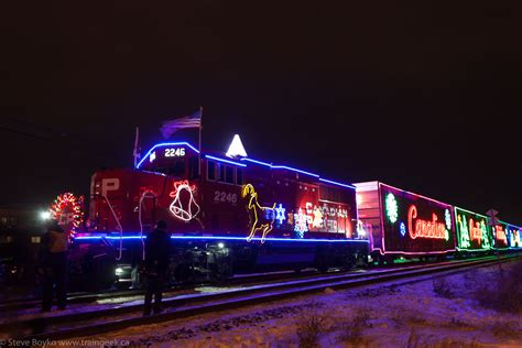 confessions of a train geek the 2014 cp holiday train