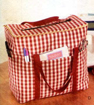 pattern sewing machine bag sewing craft room pattern sewing machine carrier case
