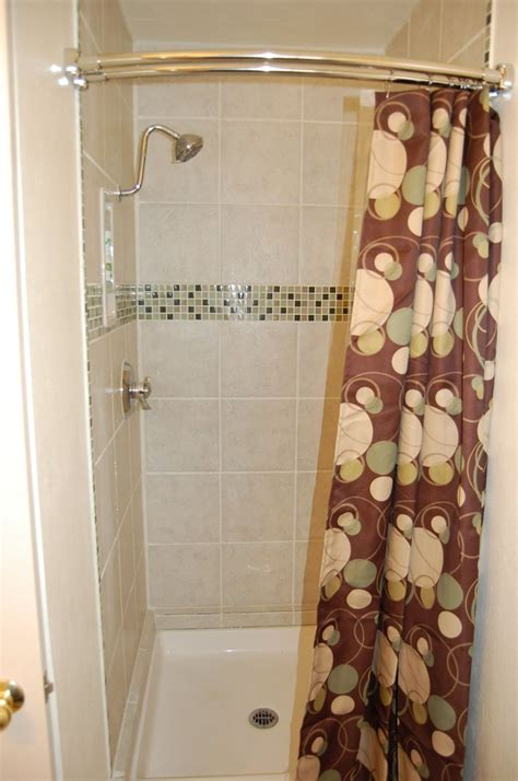 shower stall curtain rods a curved shower curtain rod page 3 pelican parts
