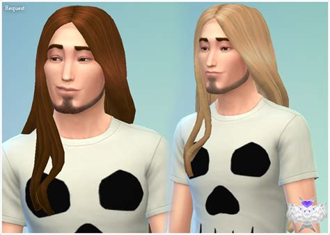 long hairstyles for men sims 4 my sims 4 blog david sims long hair for males