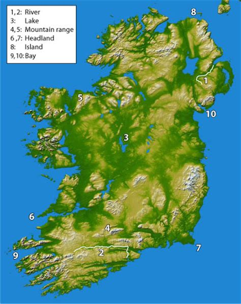 5 themes of geography ireland hq round 5 irish primary school geography tablequiz net