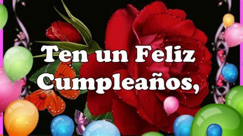 imagenes de feliz cumpleaños prima feliz cumplea 241 os prima youtube