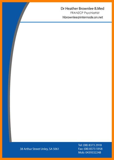10 dr letterhead format care giver resume