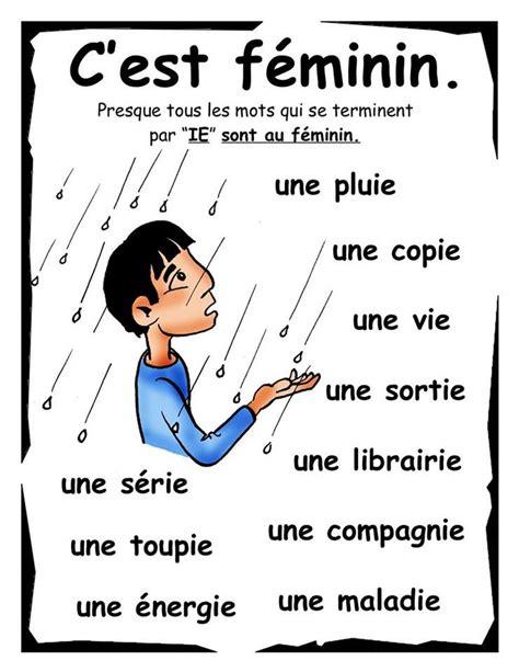le mot et lide exemples de mots f 233 minins en fran 231 ais courconnect languages courses fran 231 ais