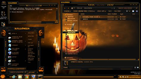 win 7 halloween themes 500 internal server error deviantart