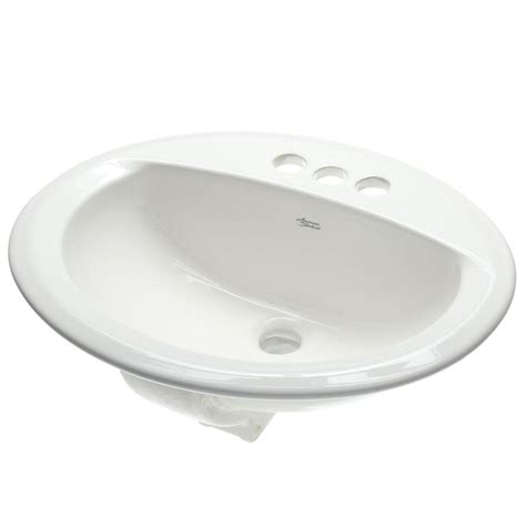 white drop in kitchen sink american standard aqualyn self drop in bathroom