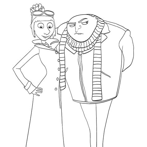 coloring pages of minions from despicable me coloring pages