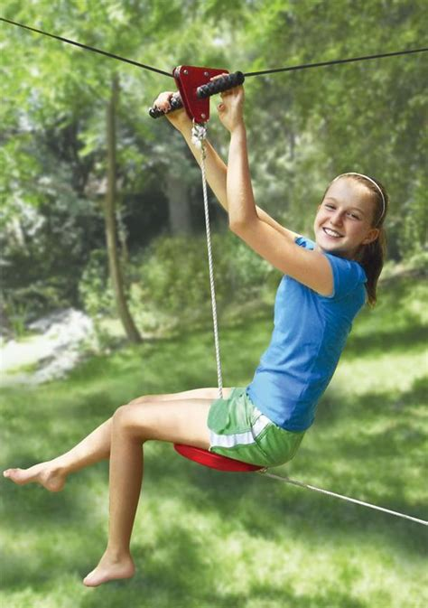 zip line backyard 25 cool accessories every dream backyard should have