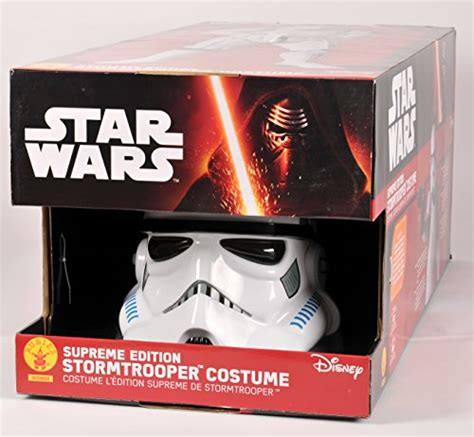 stormtrooper supreme costume rubie s collector supreme edition wars stormtrooper