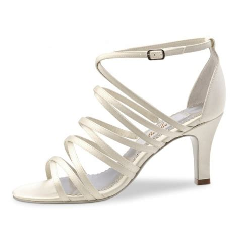 Satin Sandals Wedding by Ivory Satin Bridal Sandals Wedding Comfort Shoes Ivory