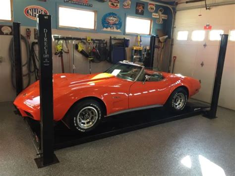 1975 l82 corvette convertible 4 speed matching numbers 3rd owner ac no reserve 1975 l82 corvette convertible 4 speed matching numbers 3rd