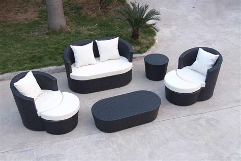 China Outdoor Furniture Sofa Set Pf 20418 China Sectional Patio Furniture Sets