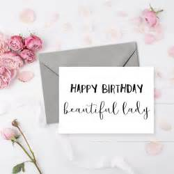 handmade happy birthday card for the beautiful in your or bestie