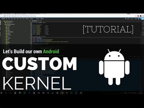 Tutorial Build Android Kernel | tutorial build a custom kernel for your android device