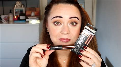 maybelline tattoo brow demo irish beauty blog beautynook