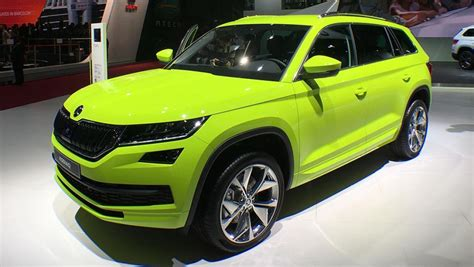 rs for suv skoda kodiaq rs suv on the cards car news carsguide