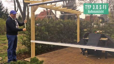 wetterschutzrollo terrasse wetterschutzrollo typ 3 0 s f1